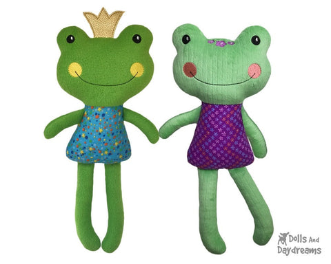 ITH Big Frog Pattern by Dolls And Daydreams