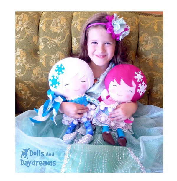 Winter Friends Sewing Pattern - Dolls And Daydreams - 6