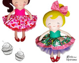 Cupcake Skirt Sewing Pattern - Dolls And Daydreams - 1