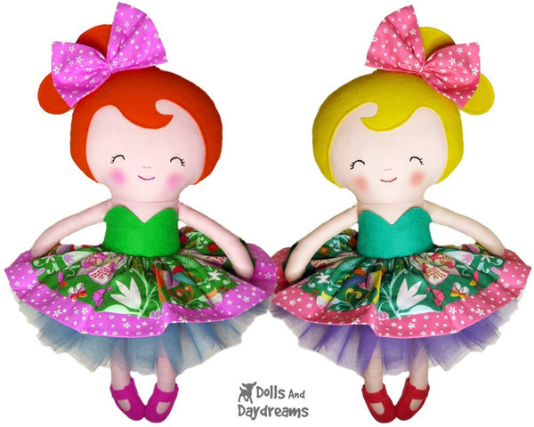 Cupcake Skirt Sewing Pattern - Dolls And Daydreams - 3