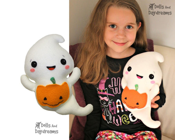 Ghost Sewing Pattern - Dolls And Daydreams - 4