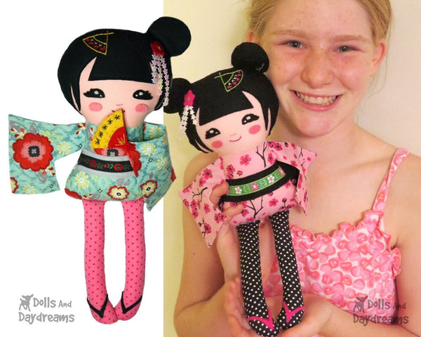 Geisha Sewing Pattern - Dolls And Daydreams - 4
