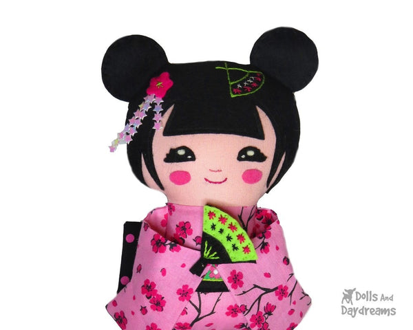 Geisha Sewing Pattern - Dolls And Daydreams - 5