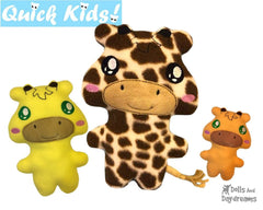 ITH Quick Kids Giraffe Pattern