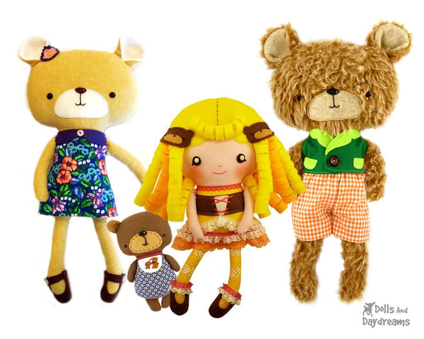 Goldilocks Sewing Pattern - Dolls And Daydreams - 5