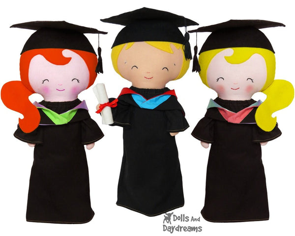 Graduation Clothes Sewing Pattern - Dolls And Daydreams - 1