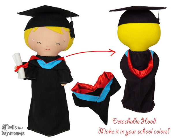 Graduation Clothes Sewing Pattern - Dolls And Daydreams - 3