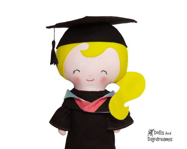 Graduation Clothes Sewing Pattern - Dolls And Daydreams - 4