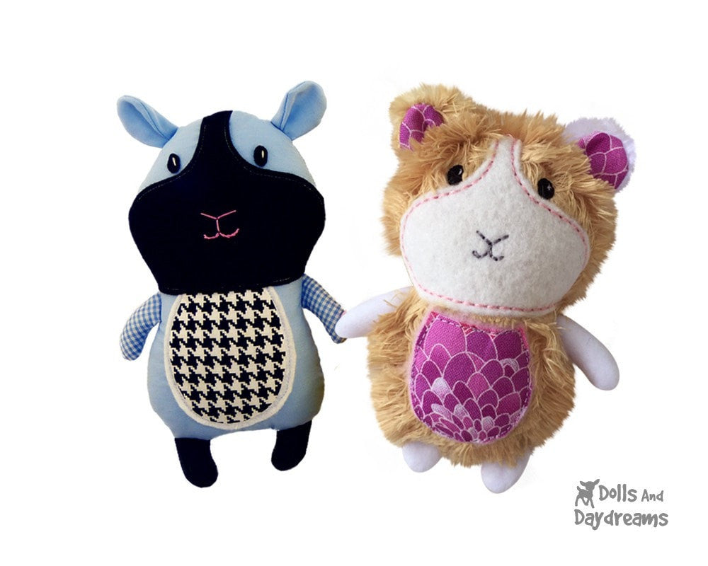 Guinea Pig Sewing Pattern | Dolls And Daydreams