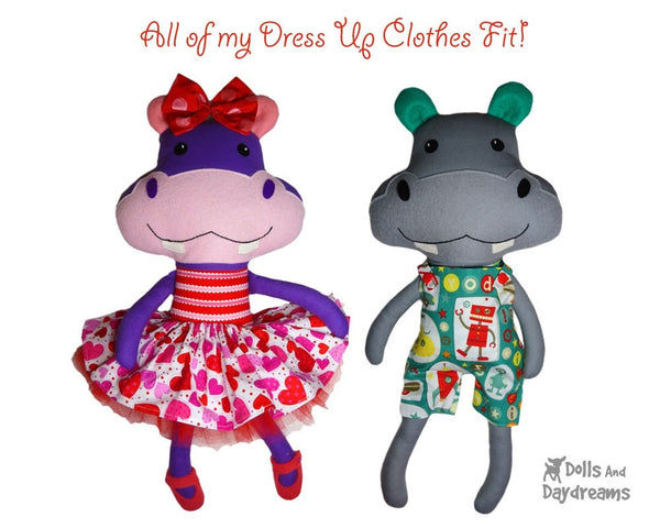 Hippo Sewing Pattern