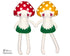 ITH Big Mushroom Babies Softie Pattern In the Hoop soft toy by Dolls And Daydreams