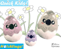 ITH Quick Kids Koala Hatchling Pattern