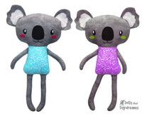 Koala Sewing Pattern Softie Soft Toy Plush by Dolls And Daydreams