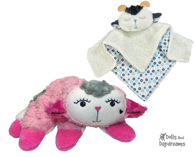 ITH Lamb Pro Grow with Me Baby Blanket Pattern | Dolls And Daydreams