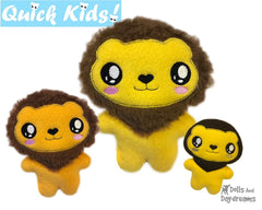 ITH Quick Kids Lion Pattern