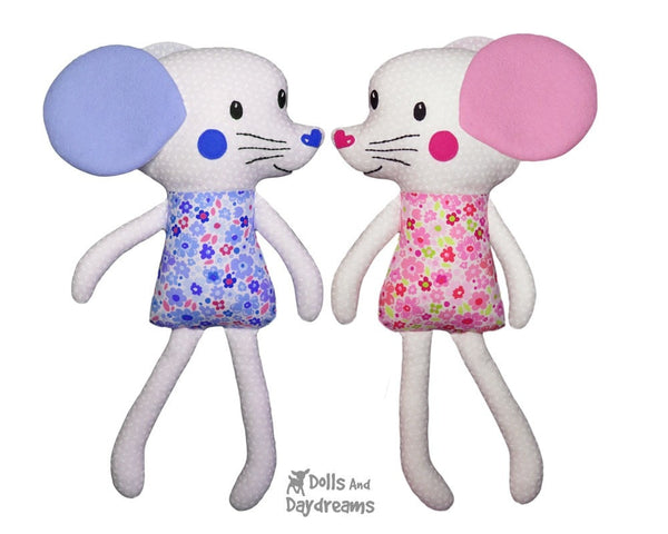 Mouse Sewing Pattern