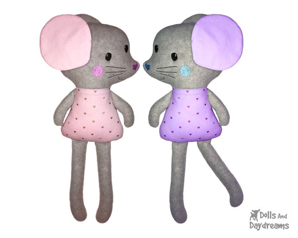 ITH Big Mouse Machine Embroidery Pattern