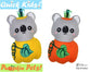Quick Kids Pumpkin Koala Sewing Pattern