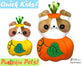 ITH Quick Kids Pumpkin Puppy Pattern