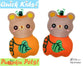 Quick Kids Pumpkin Teddy Sewing Pattern