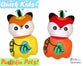 Quick Kids Pumpkin Fox Sewing Pattern