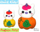 ITH Quick Kids Pumpkin Unicorn Pattern