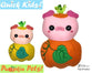 ITH Quick Kids Pumpkin Pig Pattern