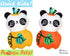 Quick Kids Pumpkin Panda Sewing Pattern by Dolls And Daydreams.pdf