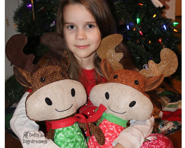 Moose Sewing Pattern childrens DIY Soft Toy