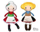 ITH Mrs. Claus & Heidi Pattern