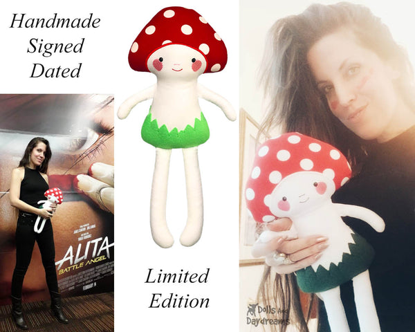 SOLD OUT -  Mushroom Baby Finished Doll