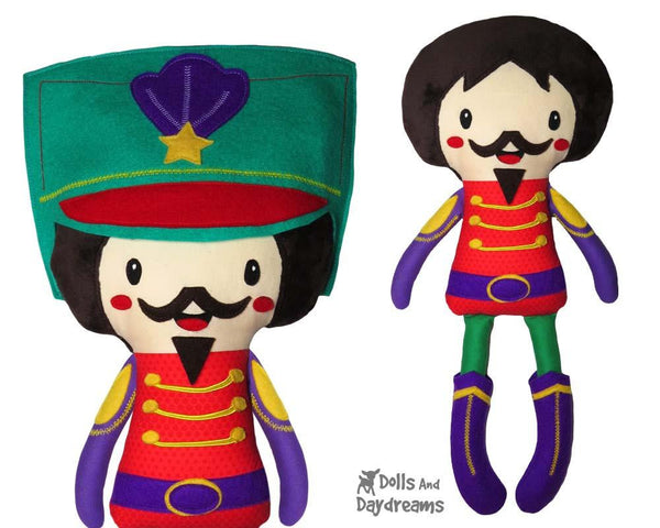 Nutcracker Prince Doll Sewing Pattern by Dolls And Daydreams