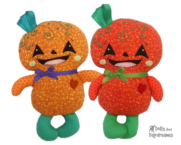Pumpkin Baby Sewing Pattern - Dolls And Daydreams - 1