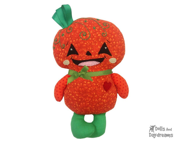 Pumpkin Baby Sewing Pattern - Dolls And Daydreams - 5