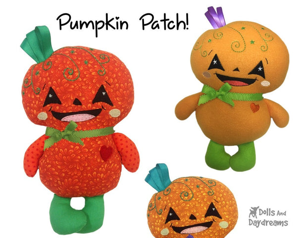 Pumpkin Baby Sewing Pattern - Dolls And Daydreams - 4