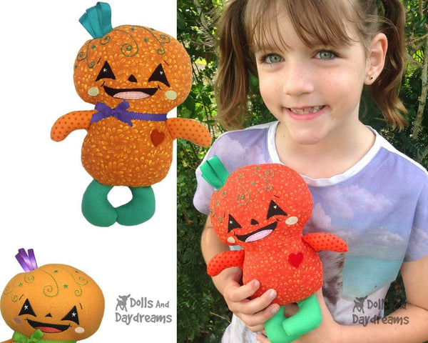 Pumpkin Baby Sewing Pattern - Dolls And Daydreams - 3