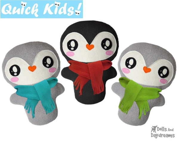 Quick Kids Penguin Sewing Pattern