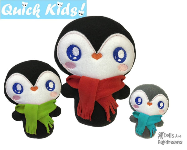 ITH Quick Kids Penguin Pattern