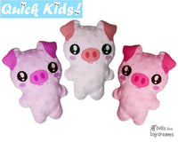 Quick Kids Pig Sewing Pattern