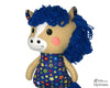 In The Hoop Yarn Hair Horse Machine Embroidery Pattern DIY Kids Soft Toy Stuffie by Dolls And Daydream