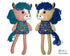 ITH Yarn Hair Horse Machine Embroidery Pattern Softie DIY Kids Softie Plush Toy by Dolls And Daydream