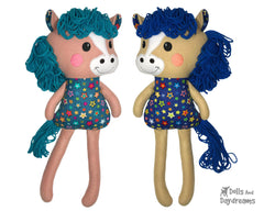 ITH Big Yarn Horse Pattern