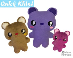 ITH Quick Kids Teddy Pattern