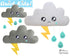 Quick Kids Rain Cloud Softie Sewing Pattern teach kids to sew