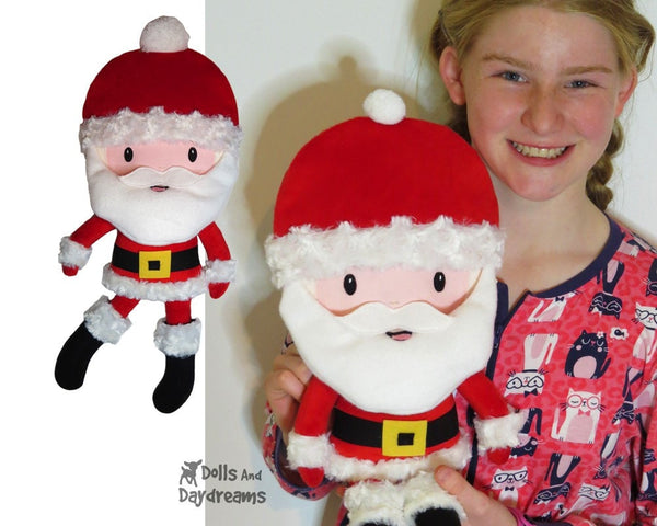 Santa Lumber Jack Sewing Pattern - Dolls And Daydreams - 3