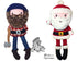 Santa Claus DIY cloth doll In The Hoop ITH Pattern - Dolls And Daydreams