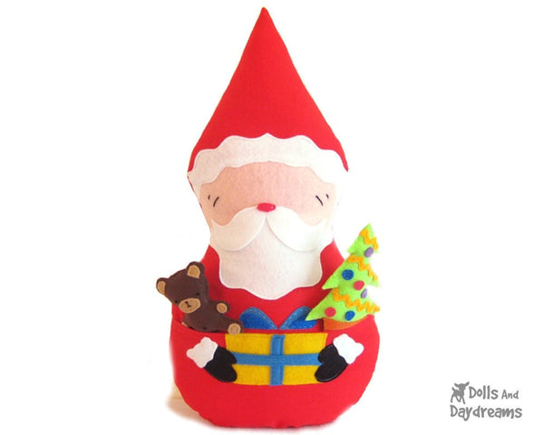 Santa Claus Father Christmas Sewing Pattern - Dolls And Daydreams - 1