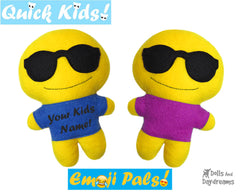 Quick Kids Shades Emoji Sewing Pattern
