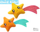 ITH Quick Kids Shooting Star Pattern