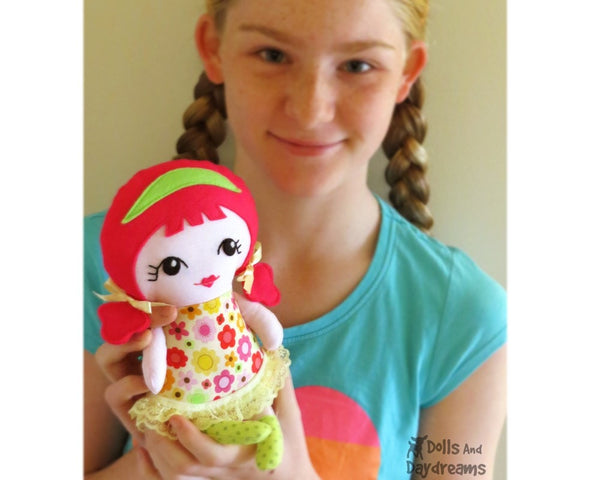 Tiny Tilda Sewing Pattern - Dolls And Daydreams - 4